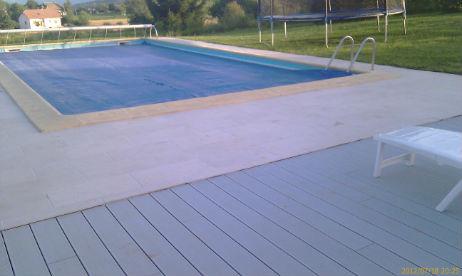 Pose de dalles carrelage ext rieur terrasse annecy haute savoie savoie - Pourtour de piscine ...